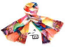 Luxury 100% Australian Wool Shawl Unique Scarf Art Wrap BFF Bridal Wedding Dress