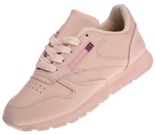 Damen Sneaker Sportschuhe Turnschuhe Laufschuhe schwarz weiß pink 16328 Gr.36-41