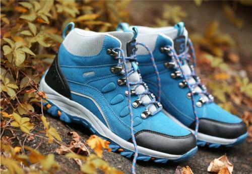 New women's High Top Boot shoes Lace Up Outdoors Hiking Waterproof Non-slip Warm
