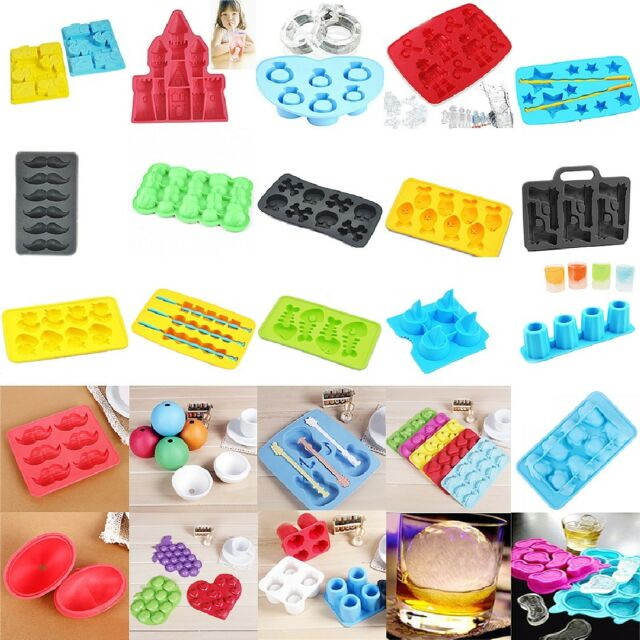 Hot Sale Silicone Mould Mold Ice Cube Tray Chocolate Muffin Molds DIY
