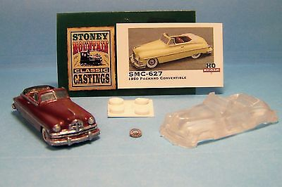SMC-668 1948 Kaiser Virginian Rag Top  HO-1//87th Scale  Clear Resin  unfinished