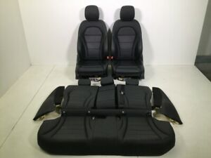 Seats-Leather-Trim-Mercedes-Benz-C-Class-W205-AMG-Sport