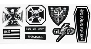 HEAVY-METAL-BAND-BLACK-LABEL-SOCIETY-BLS-PATCH-SET-for-CHEST-of-BLS-VEST