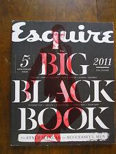 ESQUIRE Fall/Winter 2011 Big Black Book - 5th Anniversary Issue!