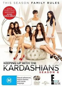 Keeping-Up-With-The-Kardashians-Season-6-DVD-NEW-Region-4-Australia