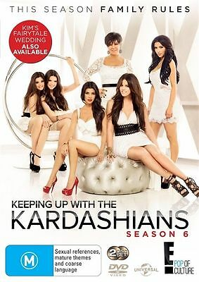 NEW Keeping Up With The Kardashians : Season 6 (DVD, 2012, 2-Disc Set)