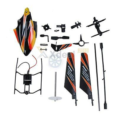 Spare Parts Accessories Set for WL 2.4GHz 4 Channels 4CH V911RC RC Helicopter