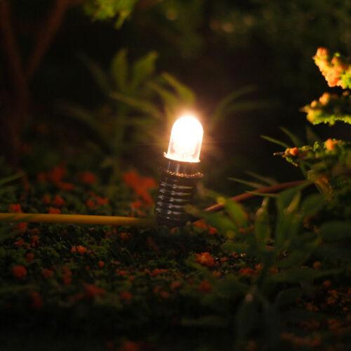 10 Stk LED 12V-14V Leuchtmittel Für Fassung E5 E5.5 LED Mit Standfuß H0//N//TT
