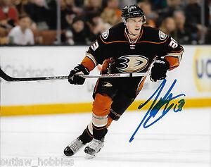 Anaheim-Ducks-Jakob-Silfverberg-Autographed-Signed-8x10-NHL-Photo-COA-D
