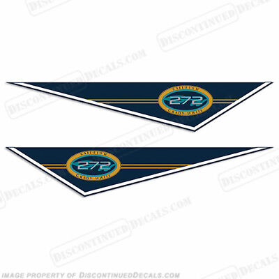 Discontinued Decal Reproductions! Sea Chaser by Carolina Skiff Boat Decals