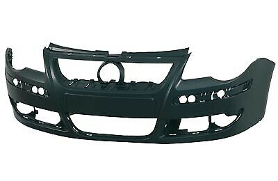 VW Polo PN 2005-2009 Front Bumper Painted Shadow Blue Metallic Code LD5Q