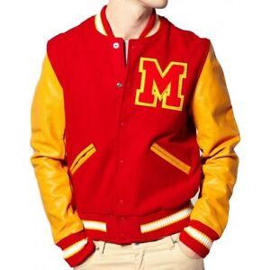 Man-039-s-Michael-Jackson-Thriller-Jacket-M-Logo-Varsity-Jacket-All-Sizes-Available