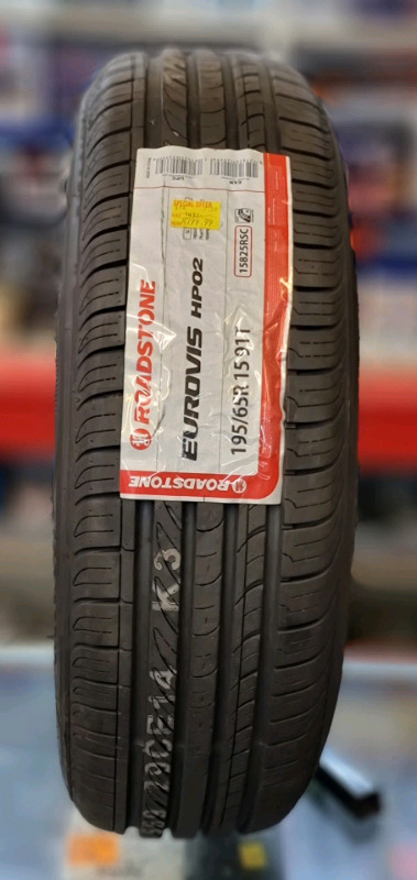 Brand new 195/65R15 ROADSTONE TYRE (1 available)