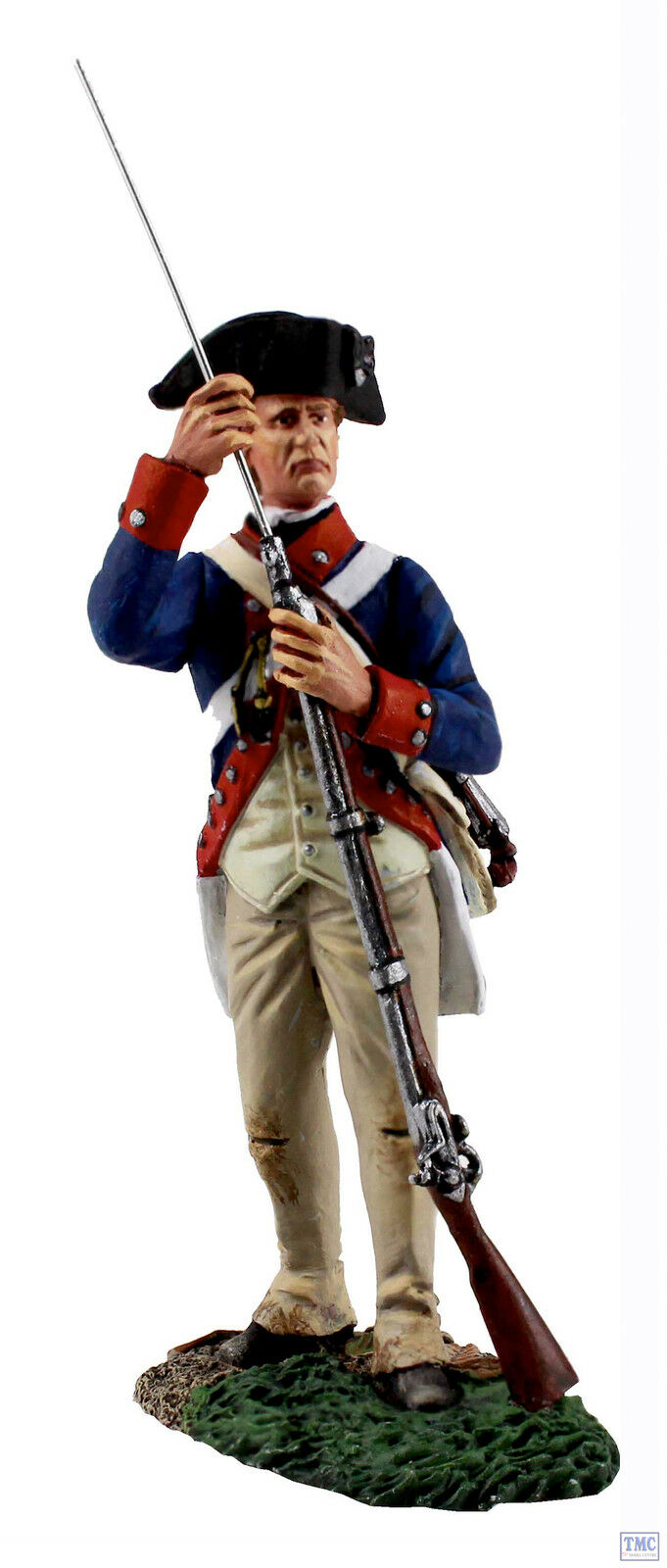B16032 W.Britain Continental Army 1st American Regiment Standing Ramming