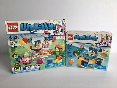 NEW LEGO Unikitty 2 Set Pack 41452 Prince Puppycorn Trike /& 41453 Party Time