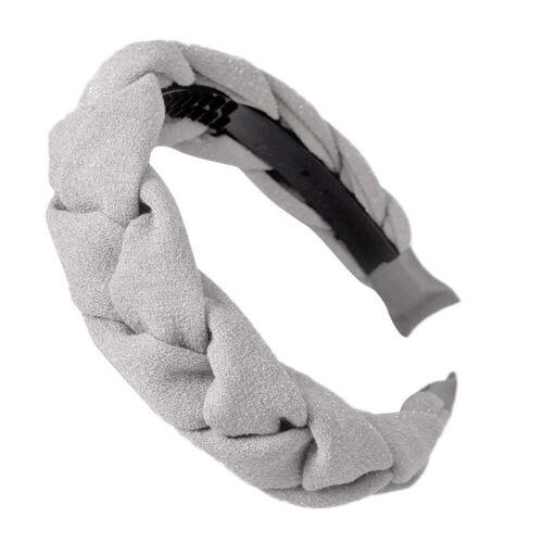 Retro Hair Velvet Bands Women/'s Twist Hairband Accessories Loop Braid Headband
