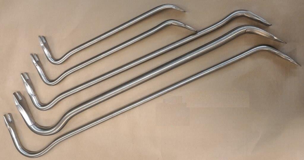 Barre de titane Pry, Extracteur d'ongle, Barre de guidage. Super Durable, léger