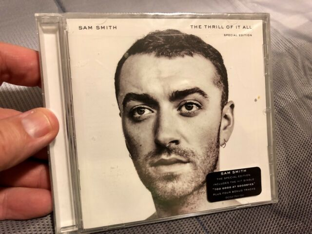 Sam Smith- The Thrill Of It All (Special Edition), BN Sealed CD