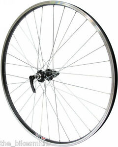 700c Black Rear Wheel Cassette Type 135mm Hybrid Bike Quick