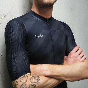 Maillot-a-manches-courtes-cyclisme-Pro-Team-Aero-Seamless-Process-Road-MTB-Top-Qualite