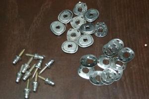 "Lift The Dot Fasteners Kit S.S Socket Backing Plate /& Screw Stud 5//8/"" 15 sets"