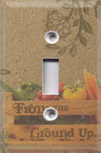 Gardening Crate Of Peppers Themed Light Switch Cover Choose Your Cover