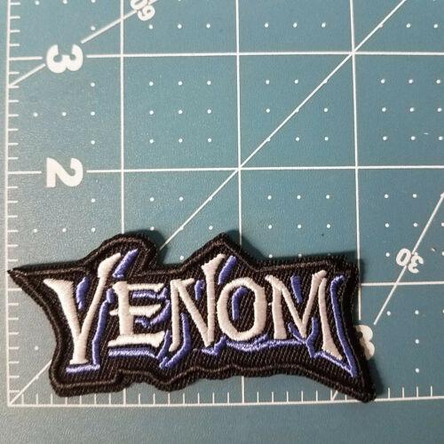Spider-man Venom Logo Title Patch 3 inches wide