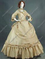 Victorian 5PC Bustle Princess Ball Gown Dress Halloween Women Costume V 330 XL