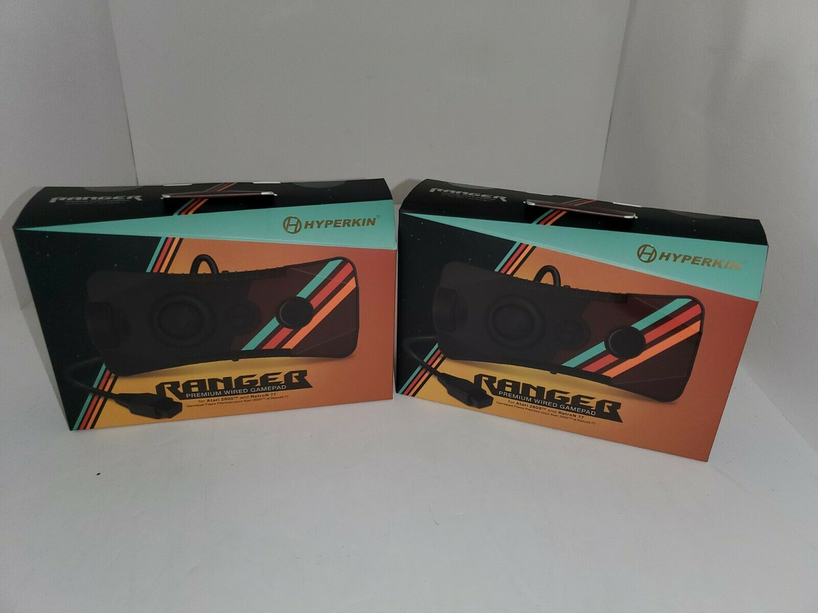 2 NEW Wired Gamepad & Paddle Controller 10 Ft cord for Atari 2600