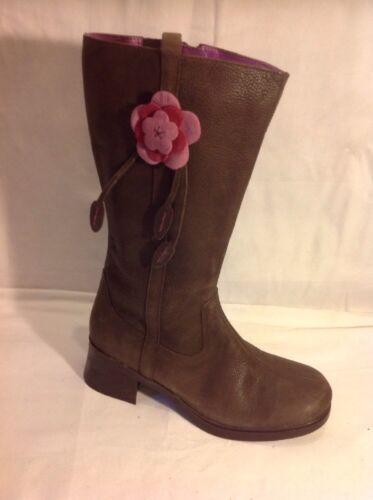 Boots Leather Mid Bootleg Calf 5f Size Brown q14TSwP
