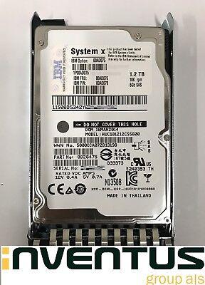 """00Y2432 1.2TB 10K 6GB SAS 2.5/"""" 00MJ149 00Y5909 00Y5709 IBM HDD"""