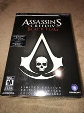 New Sealed Assassin's Creed IV Black Flag Limited Edition PS3