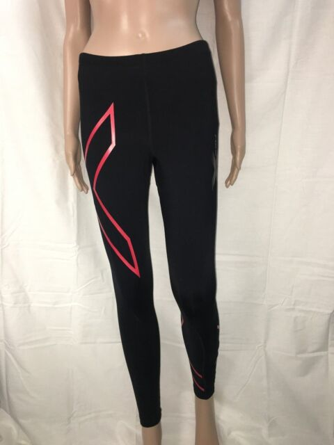 e05c9836bb 2XU Womens Thermal Compression Long Tights - Black/Red Logo * NEW IN BOX *
