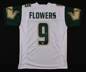 Quinton-Flowers-Signed-South-Florida-USF-Bulls-Football-Jersey-JSA-COA-Autograph
