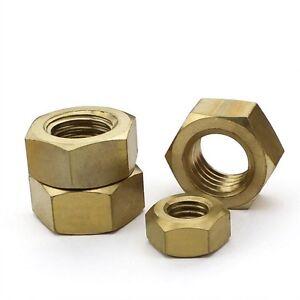 11-Kinds-M1-4-M12-Set-Solid-Brass-Hex-Nuts-Right-Hand-Thread-Assortment-Kit
