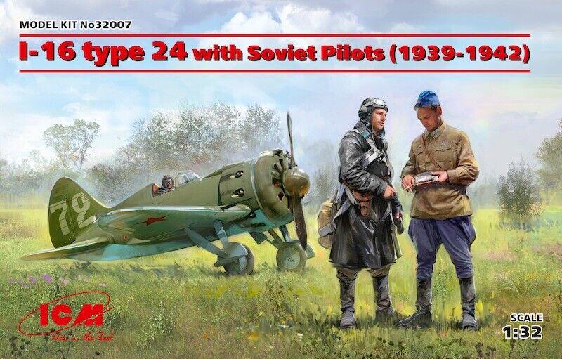 ICM 1  32 Polikarpov I -16 typ 24 med sovjetpiloter (1939 -1942)