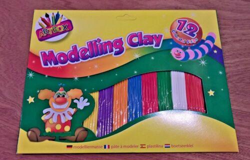 Artbox Modelling Clay Large 12 bandes Childrens plastercine