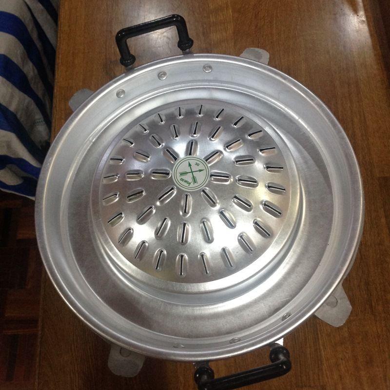 Thai Hot PAN estufa de Cochebón parrilla de la barbacoa coreano coreano mookata de aluminio 30cm.