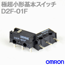[USA Shipper] 2xPCS OMRON D2F-01F D2F01F Switch Made in Japan