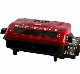 Grill électrique double face Roaster poisson BS-1107-FS Sauteuse au gaz barbecue