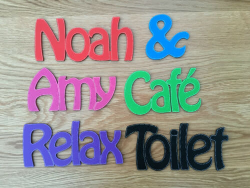 Personalised Wooden Name Plaques Words//Letters Wall//Door Art//craft//Sign
