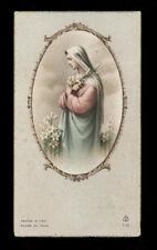 """santino-holy card""""""""ediz. FB serie 7 n.21 ECCO SONO L'ANCELLA DEL SIGNORE"""
