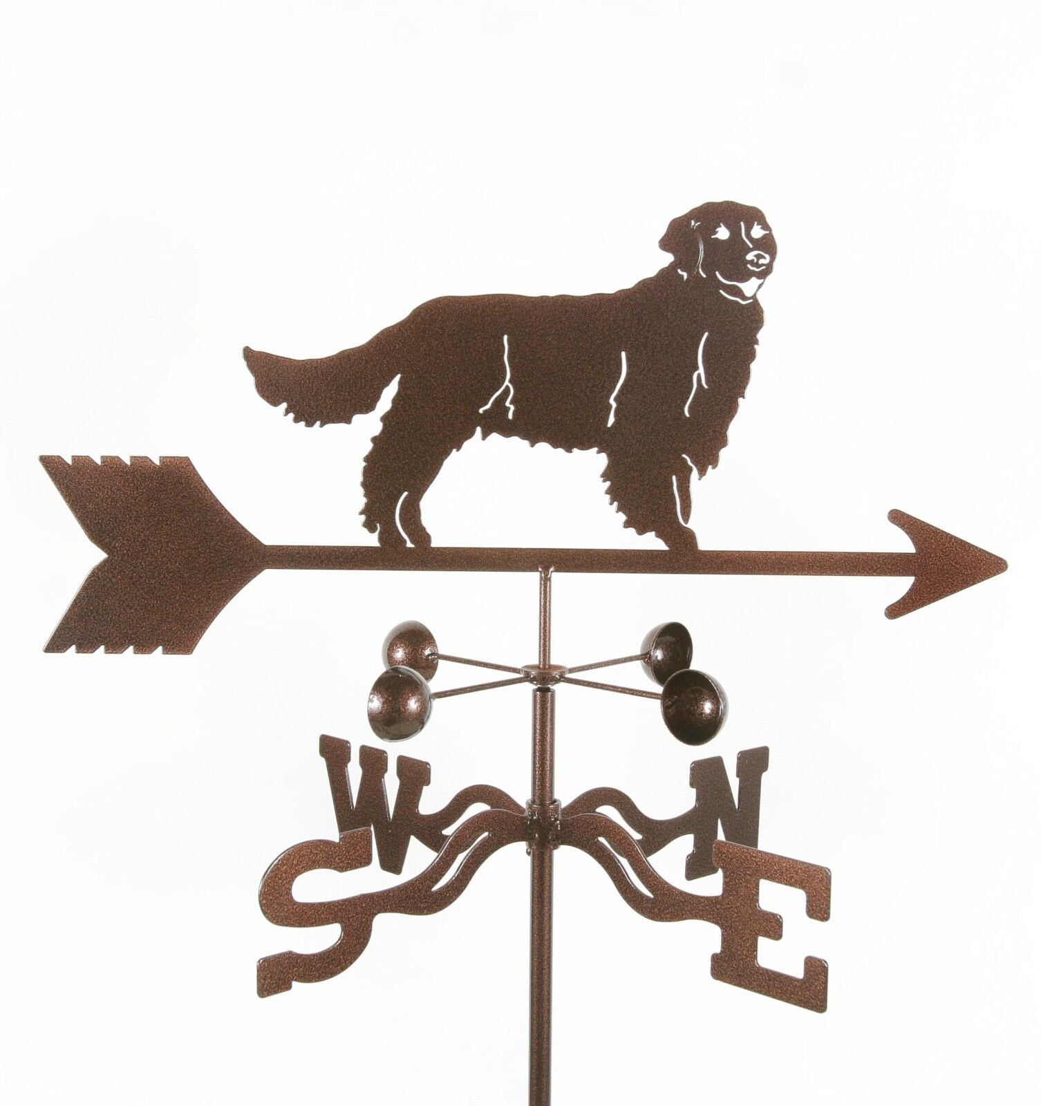 Dog - Golden Retriever Weathervane - Weather Vane -Complete w/ Choice of Mount