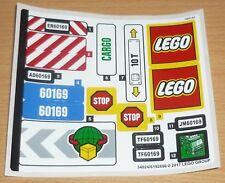 Lego City Aufkleber aus Set 60258 komplett