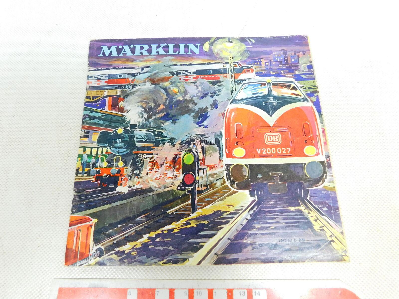 BW297-0, 5  Märklin H0 Catalogue 1962 63 D Dm without Coupon