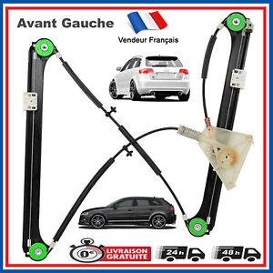 Meccanismo-Alzacristalli-senza-Motore-Anteriore-Sinistro-Audi-A3-Sportback-8P