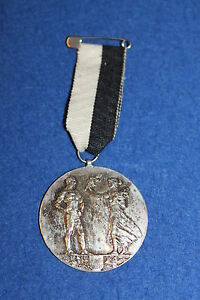 Wacker Orden Um Zu Helfen Fettiges Essen Zu Verdauen Nr.3718 Gewichtheben Ö.k.v Silber Punze 1928 Wien D=4,2cm S.k