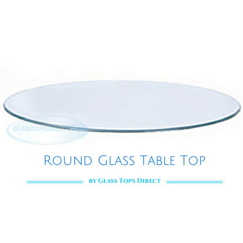 25 Inch Round Clear Tempered Glass, 25 Inch Round Glass Table Top