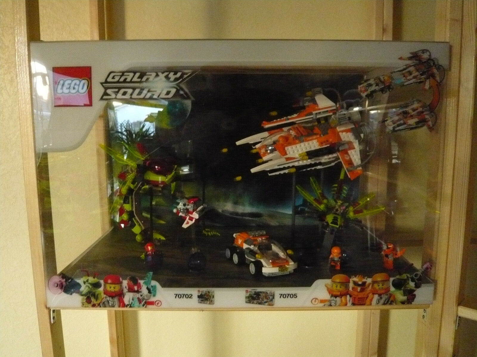 LEGO - Schaukasten - Galaxy Squad - Art.70702   Art.70705 - Showcase