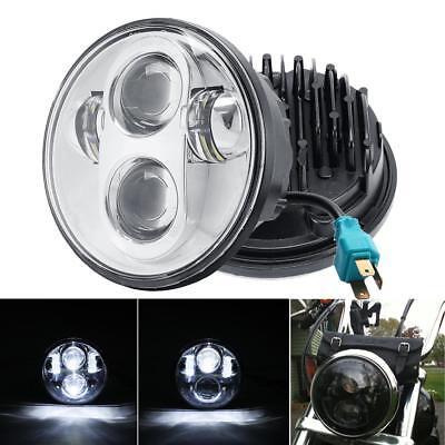 Cree H4 Hi//Lo LED Headlight For Kawasaki Vulcan 800 900 1500 1600 1700 Custom